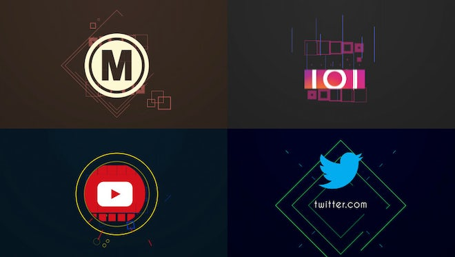 Simple Logo Intro: After Effects Templates