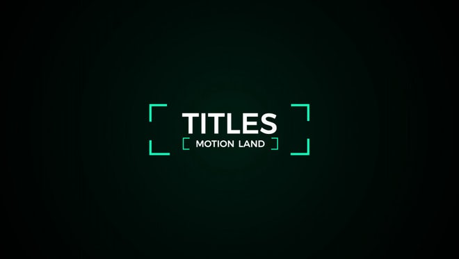 Titles And Lower Thirds: After Effects Templates