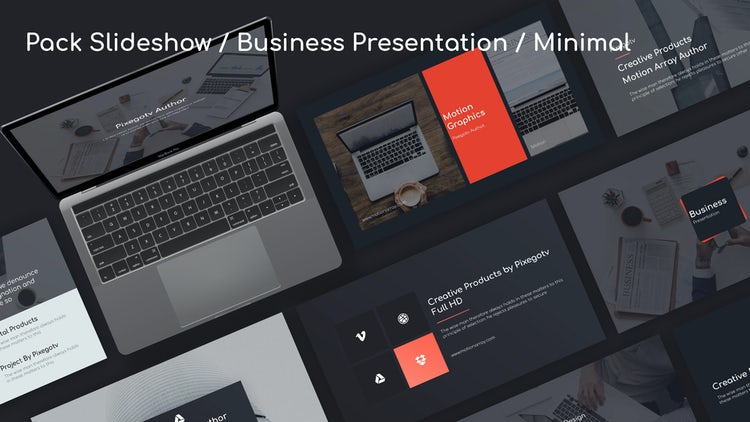 Minimal Slideshow Pack: Premiere Pro Templates