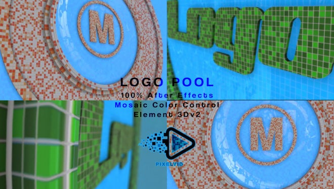Logo Pool: After Effects Templates
