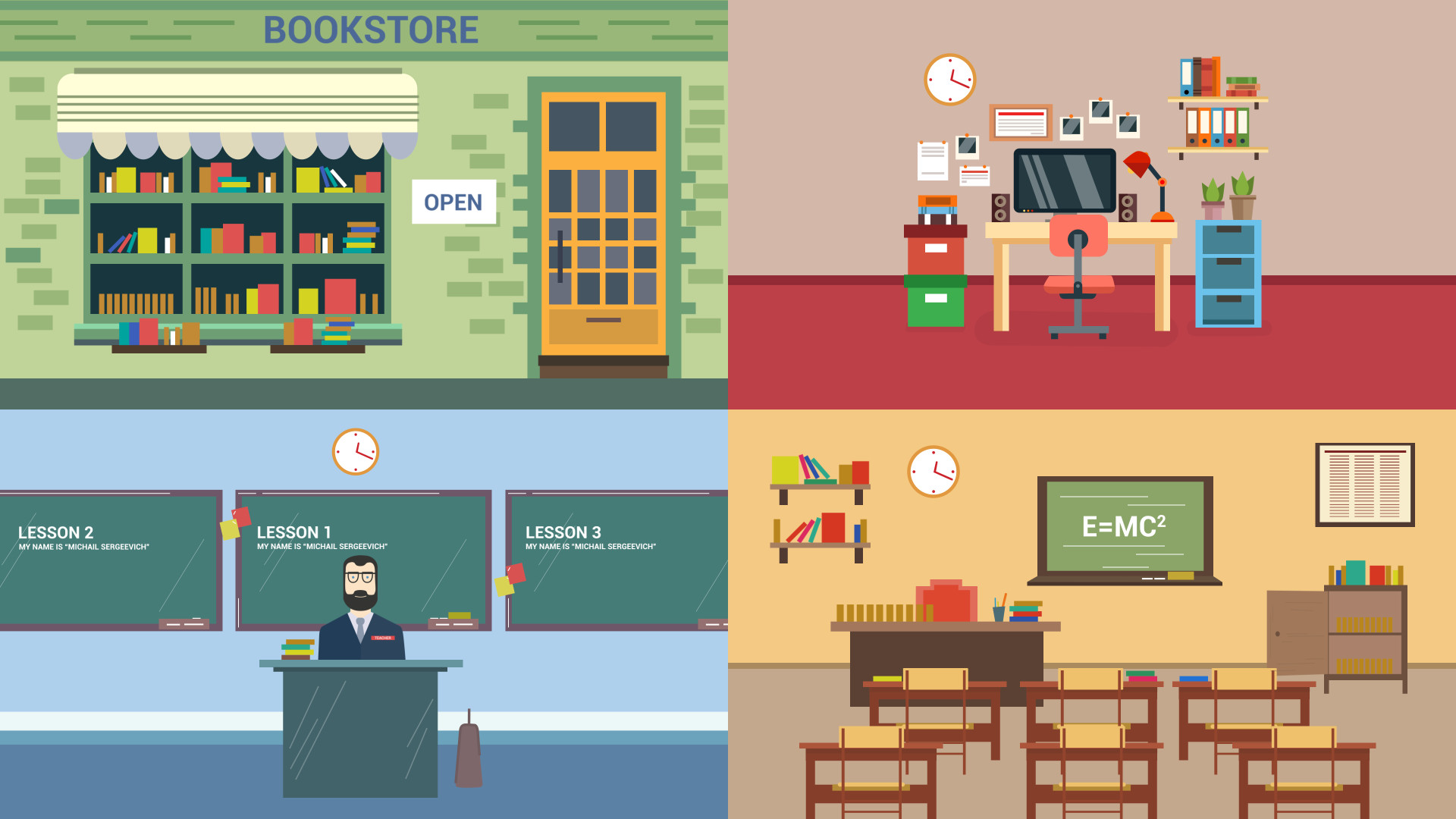 School Infographics Pack 100467 - Free download
