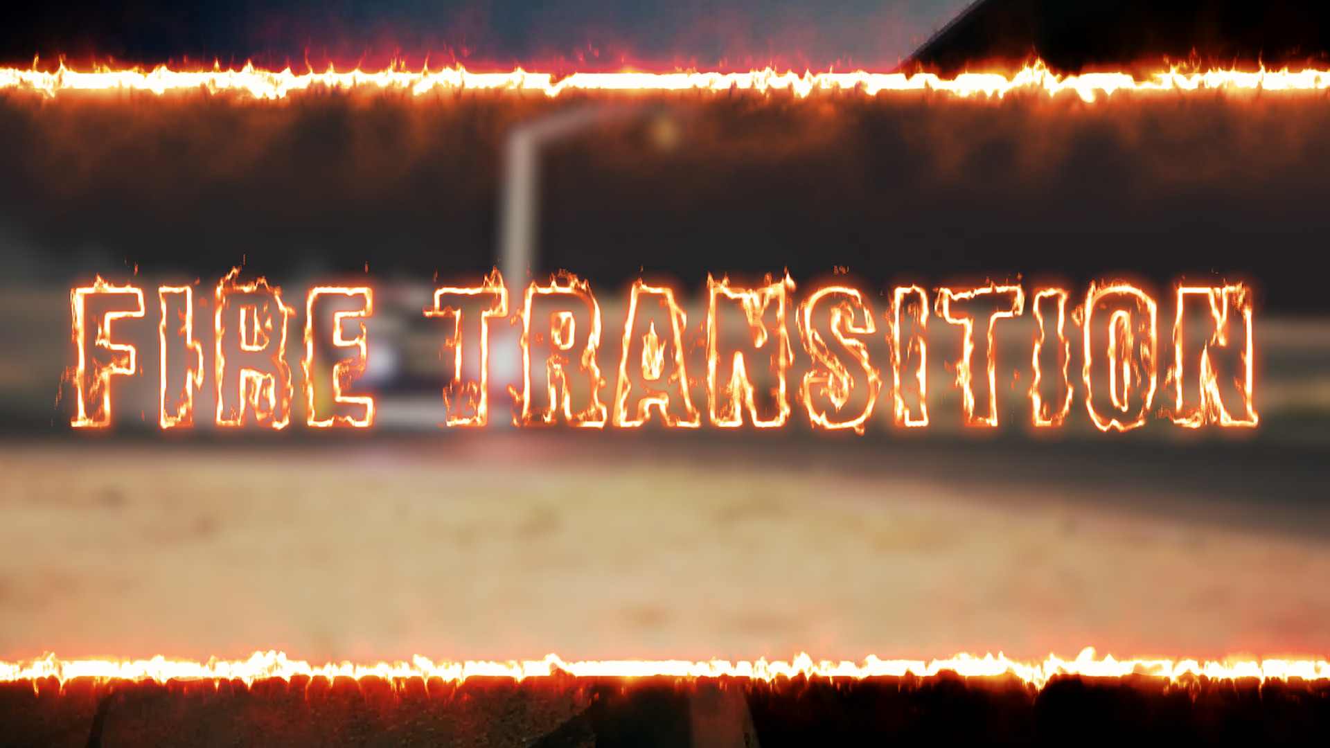 Fire Transition - Premiere Pro Templates | Motion Array
