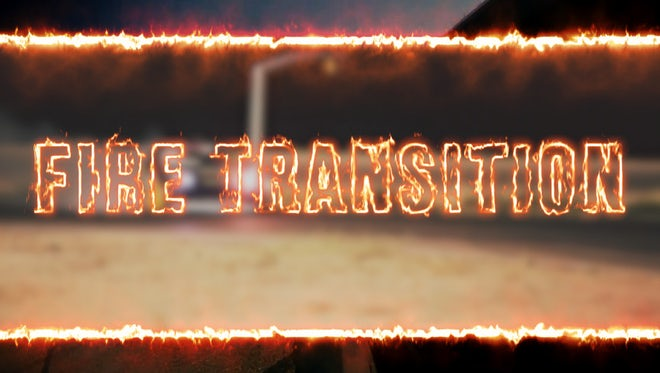 Fire Transition: Premiere Pro Templates