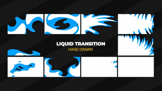 Liquid Transition 2: After Effects Templates