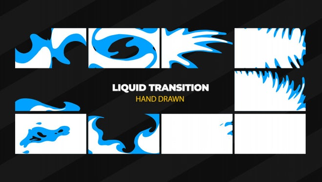 Liquid Transition 2: Stock Motion Graphics