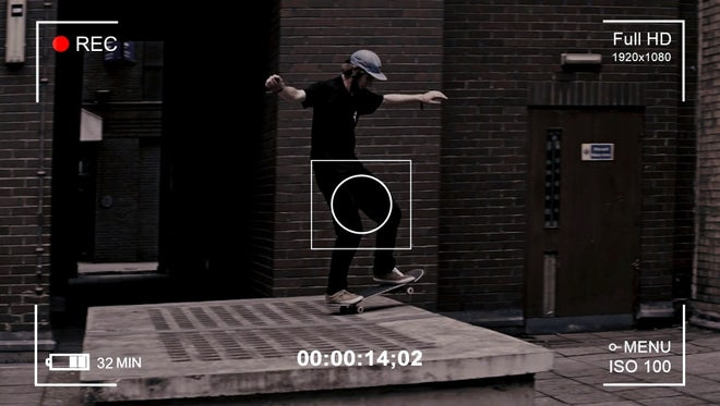 Camera Recording Screen: Stock Motion Graphics