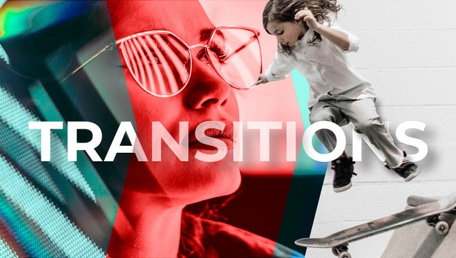 Modern Arrow Transitions: After Effects Templates