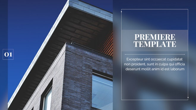 Corporate - Modern Presentation: Premiere Pro Templates