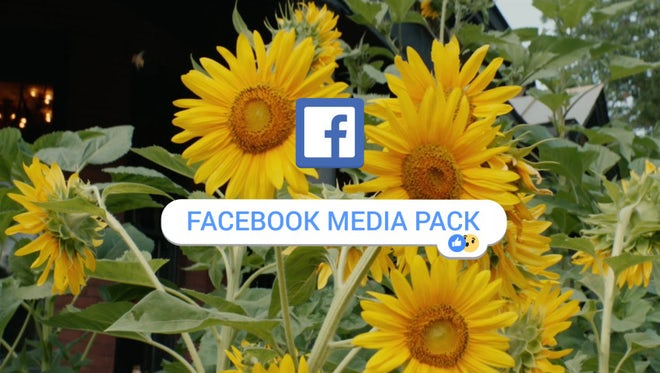 Facebook Social Media Pack: After Effects Templates