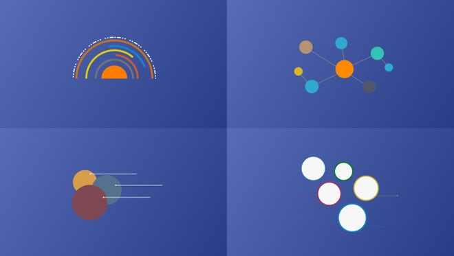 Infographics Design Elements Pack: Stock Motion Graphics
