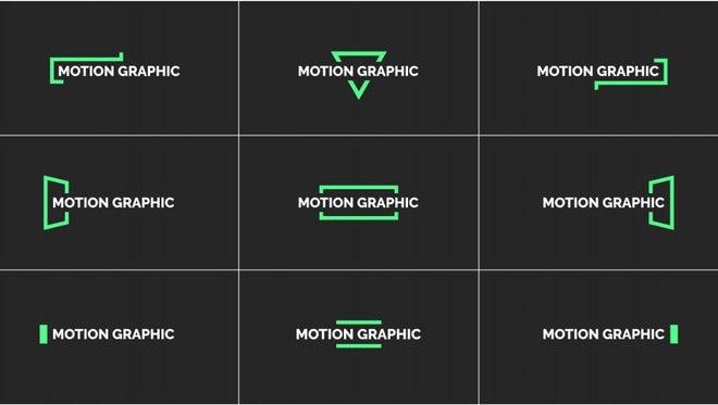 Single Line Titles: Motion Graphics Templates
