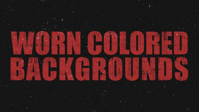 Worn Colored Backgrounds Pack: Stock Motion Graphics