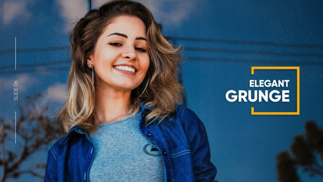 Elegant Grunge - Square Slideshow: After Effects Templates