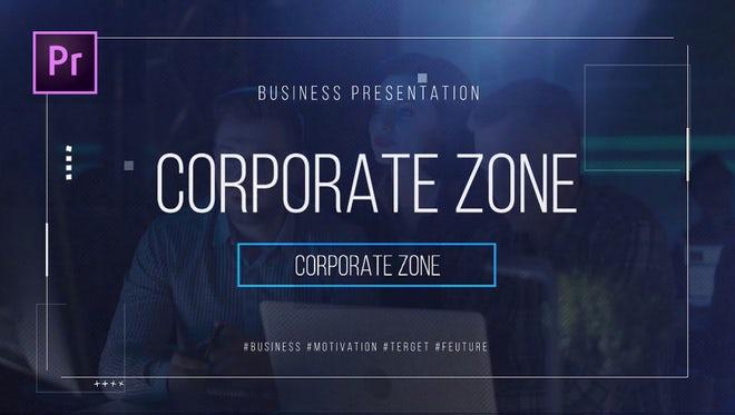 Corporate Zone: Premiere Pro Templates