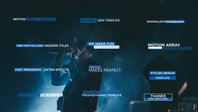 Fresh Modern Titles: Motion Graphics Templates