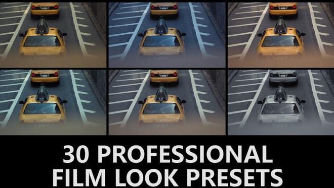 30 Professional Film Look Presets: Premiere Pro Presets