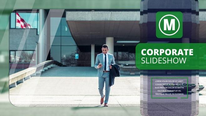 Corporate Slideshow: Premiere Pro Templates