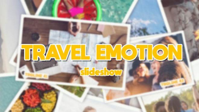 Travel Emotion Slideshow: After Effects Templates