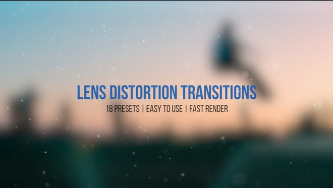 Lens Distortion Transitions: Premiere Pro Presets