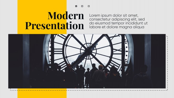 Modern Presentation - Clean Business: After Effects Templates