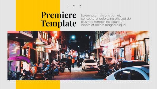 Modern Presentation - Premiere Business: Premiere Pro Templates