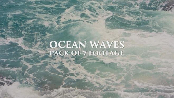 Ocean Waves Pack: Stock Video