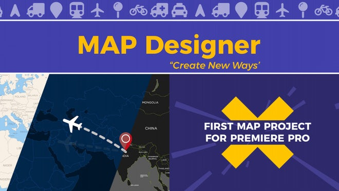 Map Designer - Essential Graphics: Motion Graphics Templates