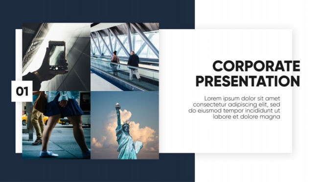 Corporate - Clean Presentation: After Effects Templates