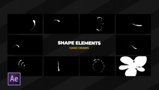 Shape Elements: After Effects Templates