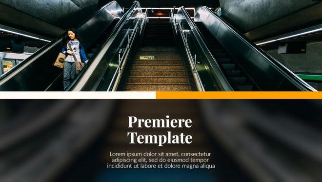 Premiere Presentation - Modern Corporate: Premiere Pro Templates