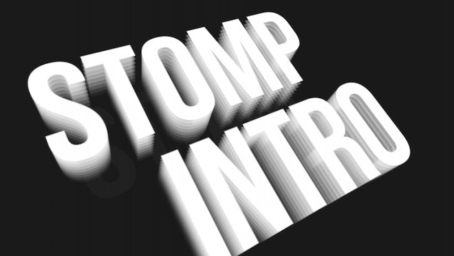 Stomp Intro Fast Shadow: After Effects Templates