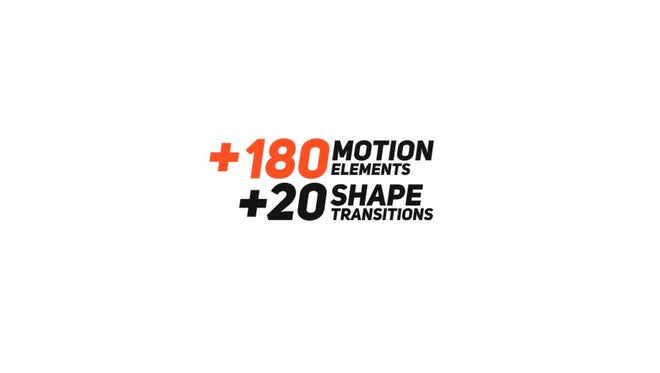 200 Motion Elements Presets Pack: After Effects Presets