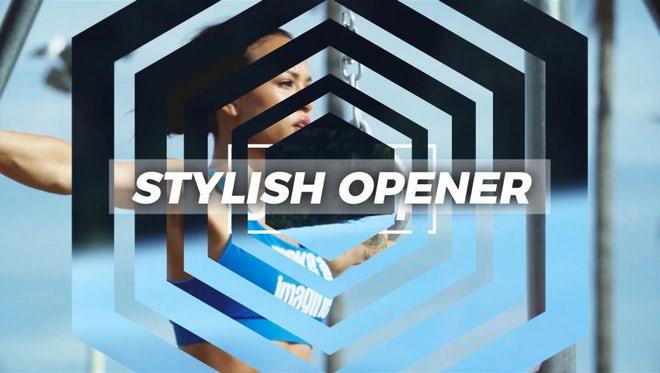 Stylish Opener: Premiere Pro Templates