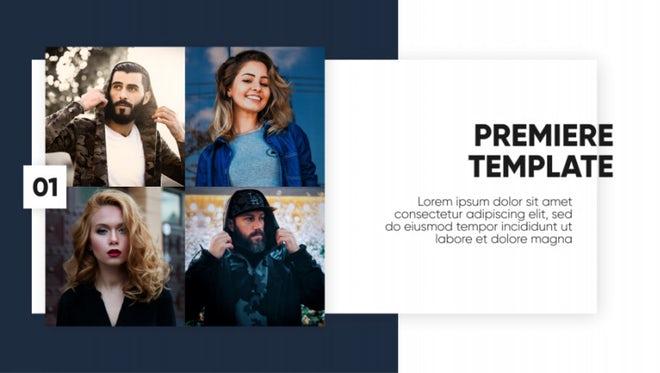 Corporate Premiere - Clean Presentation: Premiere Pro Templates
