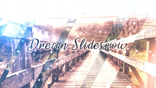 Dream Slideshow: After Effects Templates