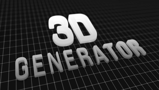 3D Generator: After Effects Templates