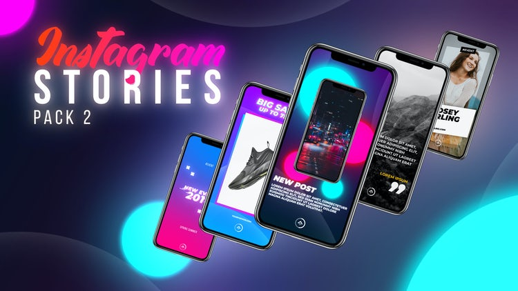 Instagram Stories Pack 2: After Effects Templates