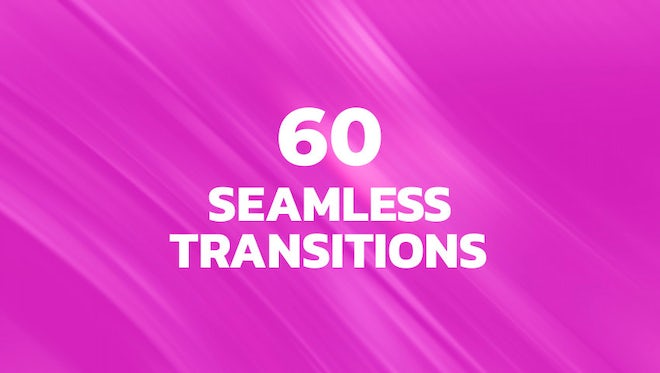 60 Seamless Transitions: Premiere Pro Presets