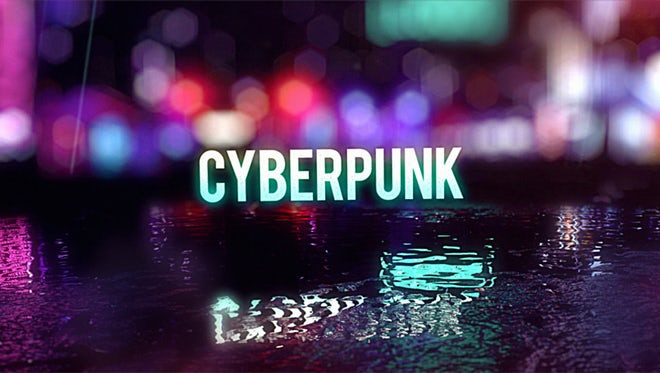 Cyberpunk Titles: After Effects Templates