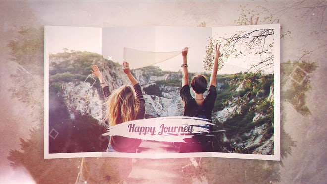 Happy Journey: After Effects Templates