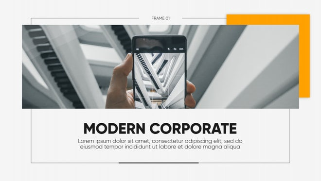 Modern Corporate - Clean Presentation: After Effects Templates