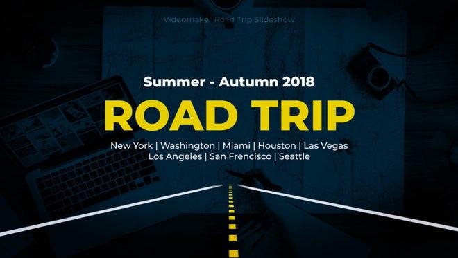Road Trip Slideshow: Premiere Pro Templates