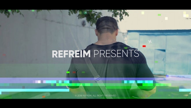 Action Glitch Opener: After Effects Templates