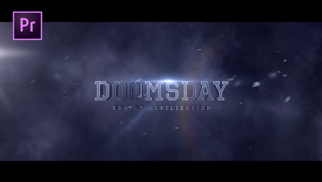 Doomsday Title design: Motion Graphics Templates