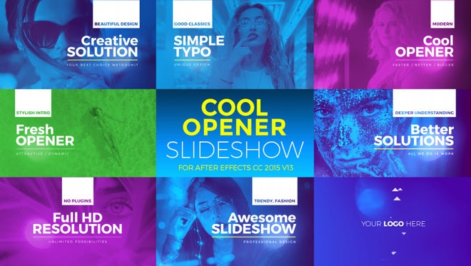 Cool Opener: After Effects Templates