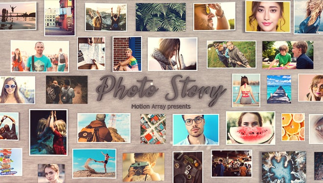 Photo Story: After Effects Templates