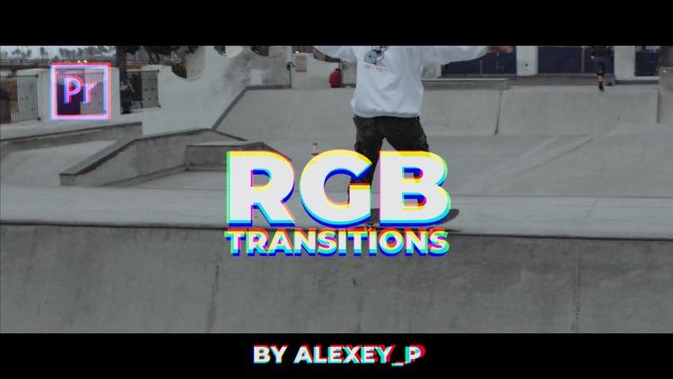 RGB Transitions: Premiere Pro Templates