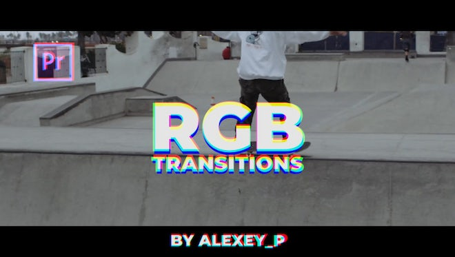 RGB Transitions: Premiere Pro Templates