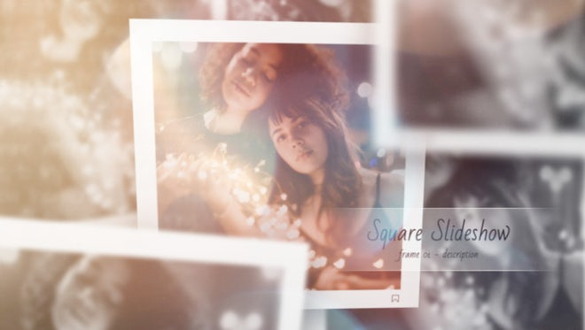Lovely Slideshow - Square Instagram: After Effects Templates
