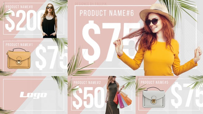 Fashion Product Promo: After Effects Templates